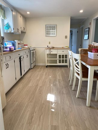 West Dennis Cape Cod vacation rental - Kitchen with new floors!