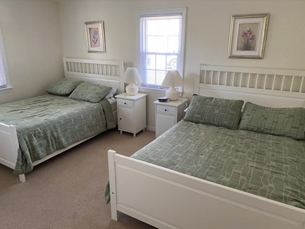 West Dennis Cape Cod vacation rental - Bedroom with 2 double beds. Large dresser and closet not pictured
