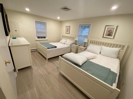 West Dennis Cape Cod vacation rental - Bedroom 2 - 2 doubles and large dresser.
