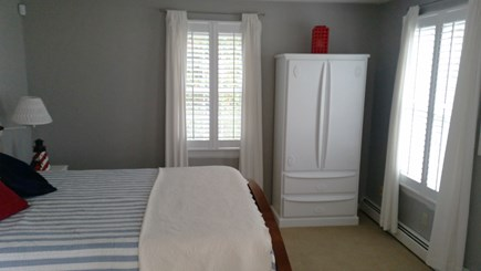 Popponesset Cape Cod vacation rental - First floor bed room with large armoire