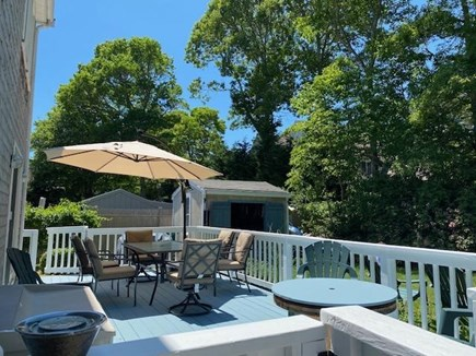 Popponesset Cape Cod vacation rental - Large deck and private back yard