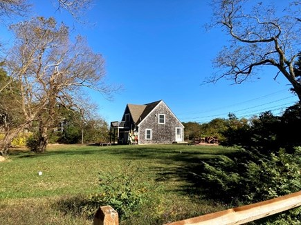 Truro Cape Cod vacation rental - Beautiful yard