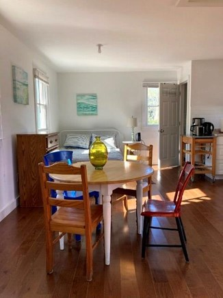 Truro Cape Cod vacation rental - Dining Table