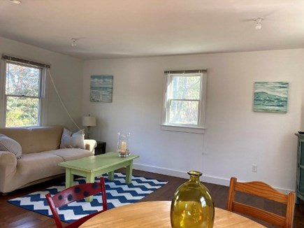 Truro Cape Cod vacation rental - Bright and cheerful living area