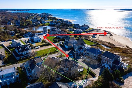 West Yarmouth Cape Cod vacation rental - Path to Bayview Beach