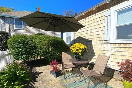 West Yarmouth Cape Cod vacation rental - Cottage patio area