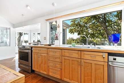 West Yarmouth Cape Cod vacation rental - 2nd floor kitchen