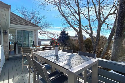 West Yarmouth Cape Cod vacation rental - Outdoor Dining with a View!