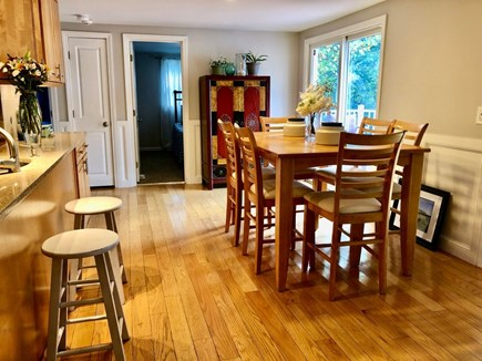 Hyannis, Beach Haven Cottage Cape Cod vacation rental - Open dining area