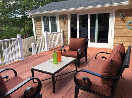 Hyannis, Beach Haven Cottage Cape Cod vacation rental - Another deck view