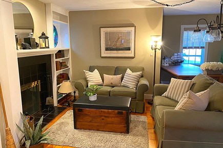 East Dennis Cape Cod vacation rental - First Floor Sitting Area.