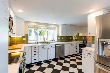 East Dennis Cape Cod vacation rental - Large Cooking Area in Kitchen.