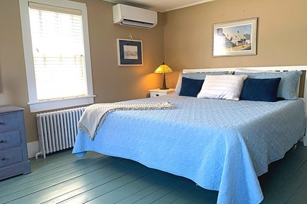East Dennis Cape Cod vacation rental - Second Floor Bedroom with a King Bed and Closet.