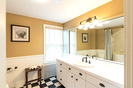 East Dennis Cape Cod vacation rental - Second Floor Full Bathroom with Tub/Shower Combination.