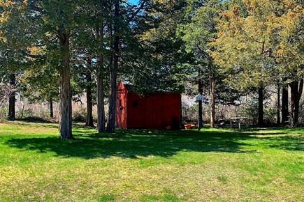 East Dennis Cape Cod vacation rental - Yard.