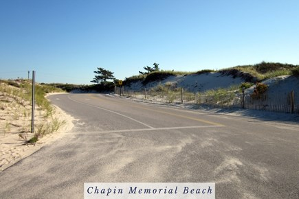 East Dennis Cape Cod vacation rental - The Way to Chapin Memorial Beach.