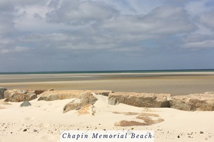East Dennis Cape Cod vacation rental - Walk Out to the Sand Bar Before High Tide at Chapin Beach.