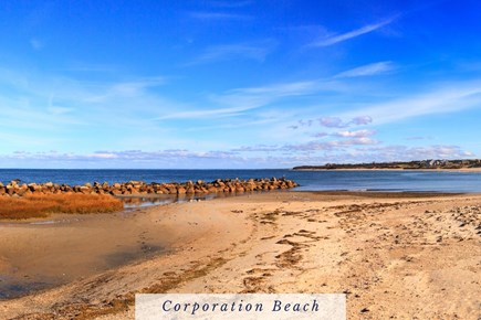 East Dennis Cape Cod vacation rental - The Warm, Calm Bay Water is Great for Swimming at High Tide.