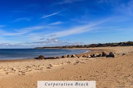 East Dennis Cape Cod vacation rental - Crescent-shaped Corporation Beach, hugs Cape Cod Bay.