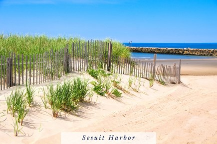 East Dennis Cape Cod vacation rental - Sesuit Harbor offers the Most Convenient Access to Cape Cod Bay.