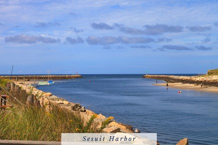 East Dennis Cape Cod vacation rental - Sesuit Harbor is a Go-to Spot for Locals in the Summer.
