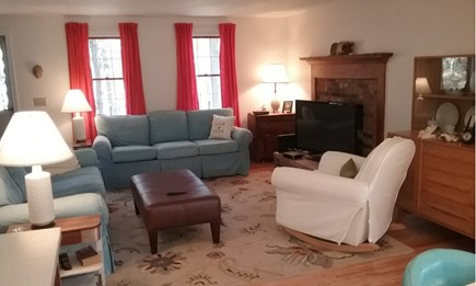 Wellfleet Cape Cod vacation rental - Enter into the living room