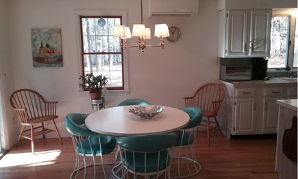 Wellfleet Cape Cod vacation rental - Dining in between living room & kitchen
