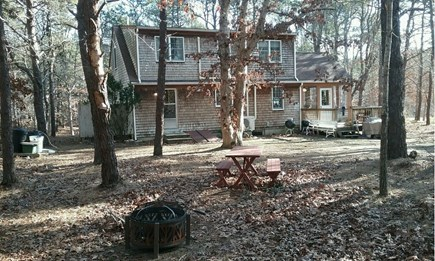 Wellfleet Cape Cod vacation rental - Back of home