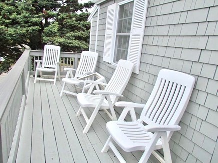 Hyannis Cape Cod vacation rental - Relax on the front deck while enjoying a view of the ocean