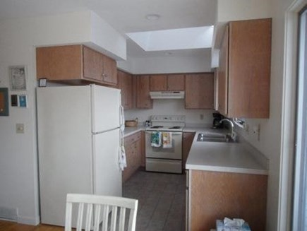 Wellfleet Cape Cod vacation rental - Dining area looking into kitchen