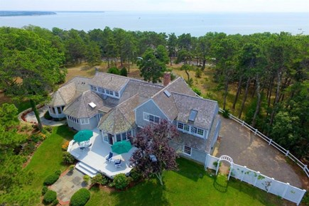 Wellfleet Cape Cod vacation rental - Aerial View
