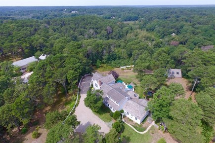 Wellfleet Cape Cod vacation rental - Aerial