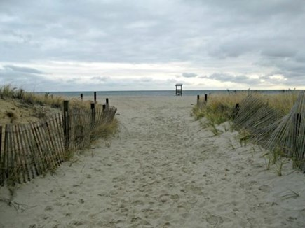West Yarmouth Cape Cod vacation rental - Entrance to Seagull Beach