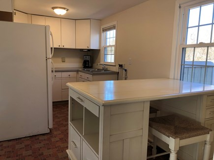 West Yarmouth Cape Cod vacation rental - Sunny kitchen, freshly painted, window treatments coming soon!