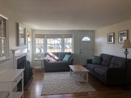 West Yarmouth Cape Cod vacation rental - Living room. Freshly painted with new furnishings.