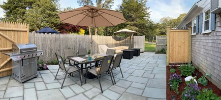 Harwich Port Cape Cod vacation rental - Full View of Patio-Private