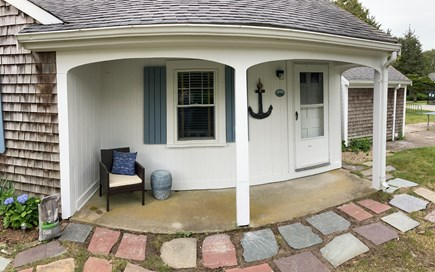 Harwich Port Cape Cod vacation rental - Front Entrance