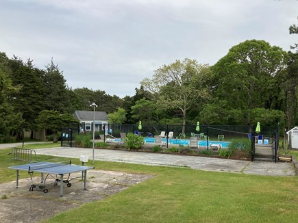 Harwich Port Cape Cod vacation rental - Pool Deck right outside the unit