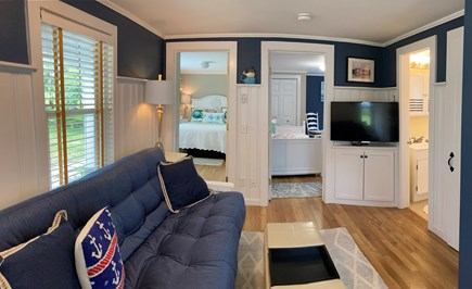 Harwich Port Cape Cod vacation rental - Living Room With Futon/Couch