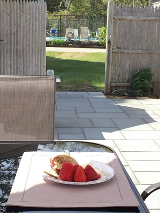 Harwich Port Cape Cod vacation rental - Direct Access to Pool from Back Patio
