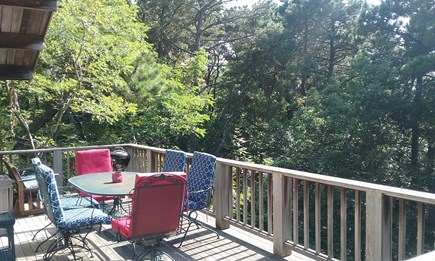 Wellfleet Cape Cod vacation rental - More sunny deck