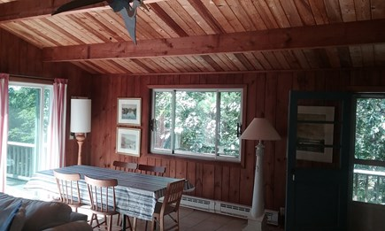 Wellfleet Cape Cod vacation rental - Enter into open living area