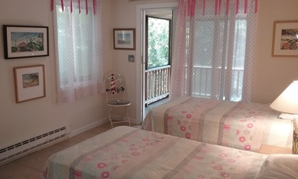 Wellfleet Cape Cod vacation rental - 1st Bedroom opens into screened in porch