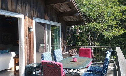 Wellfleet Cape Cod vacation rental - Upper deck from living areas