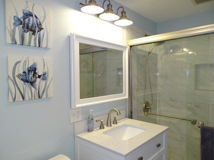 Provincetown Cape Cod vacation rental - Walk in shower, all new bathroom
