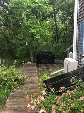 Provincetown Cape Cod vacation rental - Private Grill Area