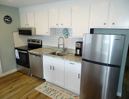Provincetown Cape Cod vacation rental - All new appliances and fixtures in kitchen