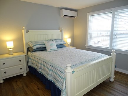 Provincetown Cape Cod vacation rental - Queen bedroom – new furniture and linens