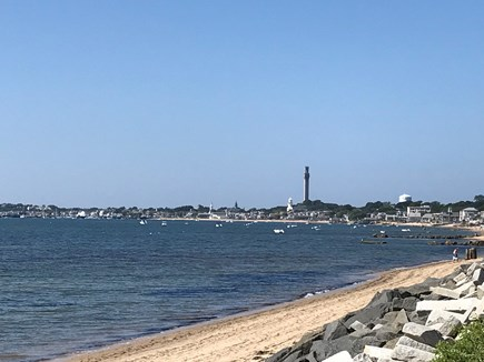 Provincetown Cape Cod vacation rental - Walk 200 yards to vast beautiful beach, views of downtown P'town