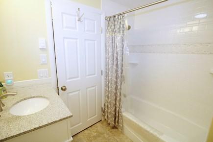 Wellfleet Cape Cod vacation rental - Lower level bathroom with tub/shower